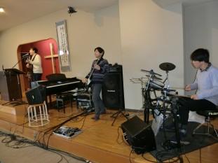 Noah ミニコンサート礼拝